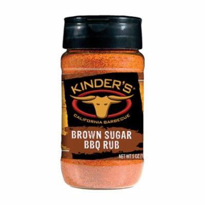 6/Pack Kinder'S 37513 Brown Sugar Rub 5 Oz. Sweet Smoky