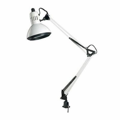 Alvin CFL2540-D Swing-Arm Lamp White (CFL2540-D)