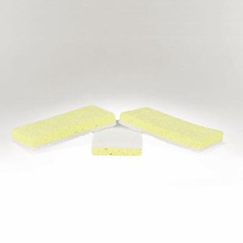 Royal White Light Duty Scouring Pad/Sponge Combo, Package of 20