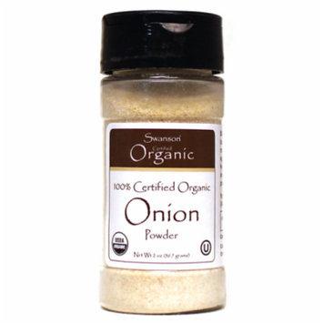 Swanson 100% Certified Organic Onion Powder 2 oz (56.7 grams) Pwdr