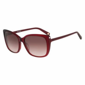 NINE WEST Sunglasses NW560S 612 Crystal Ruby 58MM