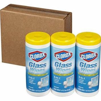 Clorox Glass Wipes, Radiant Clean, 96 count