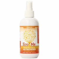 Eco-Me Vitamin-Infused Air Freshener, Vanilla Scent, 8 Ounce