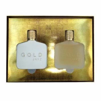 GOLD MEN 2 PIECE GIFT SET - 3.0 OZ EAU DE TOILETTE SPRAY by JAY Z