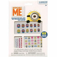 Despicable Me Minions 65 Piece Decorative Nail Art Kit