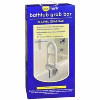 Sunmark Bathtub Grab Bar Model - 1 each