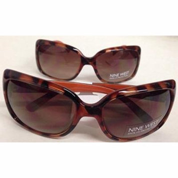 LOT OF 2 Nine West AC0415 S05037RNJ201LTS Leopard Frame Sunglasses NEW