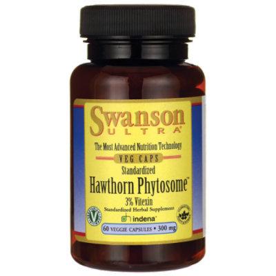Swanson Standardized Hawthorn Phytosome 300 mg 60 Veg Caps