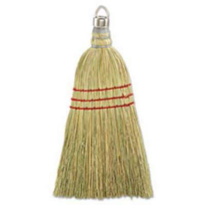 Whisk Broom, Corn Fiber Bristles, 10