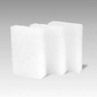 Royal White Fine Scouring Pads, 3.5