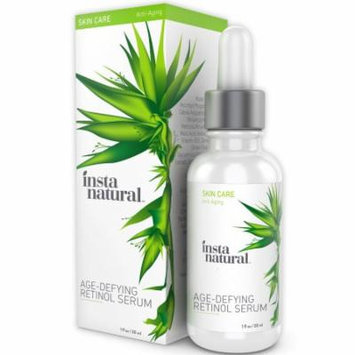 InstaNatural Retinol Serum 2% - Anti Wrinkle Anti-Aging Facial Serum - Helps Reduce Appearance of Wrinkles, Crows Feet &