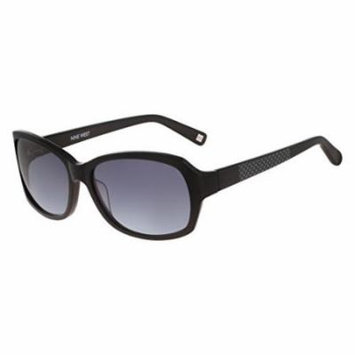 NINE WEST Sunglasses NW566S 001 Black 57MM