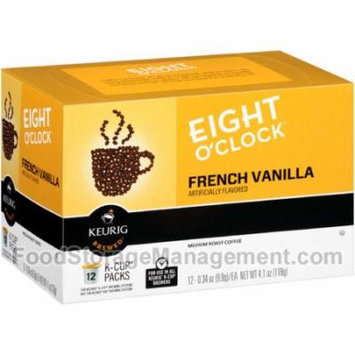 Eight O'Clock Coffee French Vanilla K Cups, 12 CT (Pack of 6)