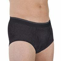 Wearever Men's Maximum Absorbency Washable Reusable Bladder Control Briefs Single Pair