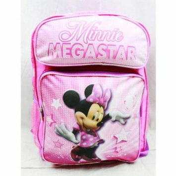 Backpack - Disney - Minnie Mouse - Mega Star (Large School Bag) New mw23171