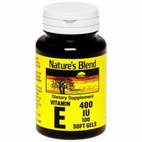 Nature's Blend Vitamin E IU - 100 Softgels
