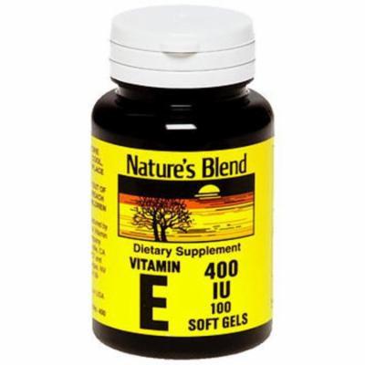 Nature's Blend Vitamin E IU - 100 Softgels