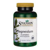 Swanson Magnesium (Lactate) 84 mg 120 Caps