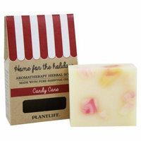 Plantlife Natural Body Care - Aromatherapy Herbal Bar Soap Candy Cane - 4.5 oz.