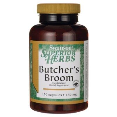 Swanson Butcher's Broom (Standardized) 150 mg 120 Caps