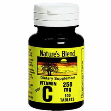 Nature's Blend Vitamin C 250 mg - 100 Tablets