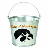 NCAA Iowa Hawkeyes 5-Quart Galvanized Pail