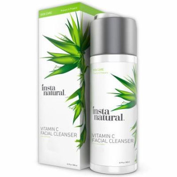InstaNatural Vitamin C Facial Cleanser - Anti Aging, Breakout & Wrinkle Reducing Face Wash for Clear & Reduced Pores - W