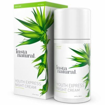 InstaNatural Night Cream - Best Moisturizer for Face - With 5% Niacinamide, Vitamin B3, Vitamin C, Argan & Rosehip Oil -