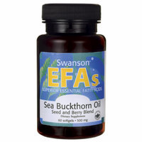 Swanson Sea Buckthorn Oil Seed and Berry Blend 60 Sgels