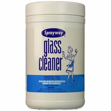 Glass Cleaner Wipes (10