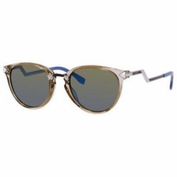 FENDI Sunglasses 0039/S 0Fx8 Transparent Gray 50MM