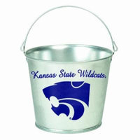 NCAA Kansas State Wildcats 5-Quart Galvanized Pail
