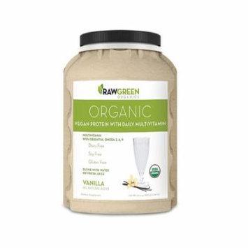 Organic Vegan Protein w/ Multivitamin - Vanilla (840g)