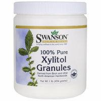 Swanson 100% Pure Non-Gmo Xylitol Granules 1 lb (454 grams) Granules