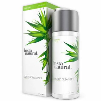InstaNatural Glycolic Facial Cleanser - Anti Wrinkle, Fine Line, Age Spot & Hyperpigmentation Face Wash - Clear Dead Ski