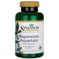 Swanson Magnesium Aspartate 685 mg (133 mg elemental) 90 Caps
