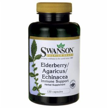 Swanson Elderberry/Agaricus/Echinacea (Immune Su 120 Caps