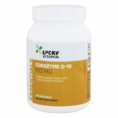 LuckyVitamin - Coenzyme Q-10 100 mg. - 120 Softgels