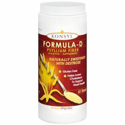 Konsyl Formula-D Psyllium Fiber Powder - 397 GM