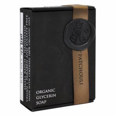 MSC Skin Care + Home - Artisan Organic Glycerin Soap Bar Earth and Patchouli - 5.7 oz.