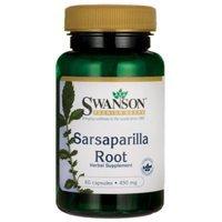 Swanson Sarsaparilla Root 450 mg 60 Caps