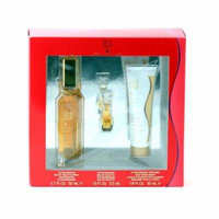 Giorgio Beverly Hills Giorgio Red (L) EDT Sp 1.7 oz. Body Moist 1.6oz./Mini Repl .13 Size: Set