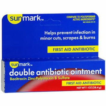 Sunmark Double Antibiotic Ointment - 1 oz