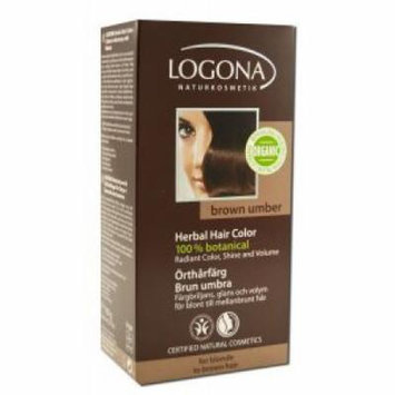 Logona - Herbal Hair Color Powders, Brown Umber