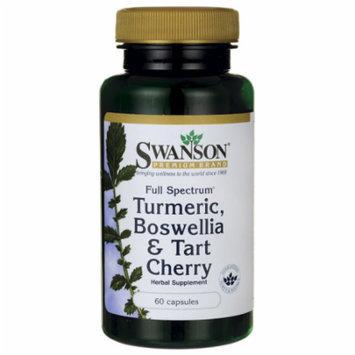 Swanson Full Spectrum Turmeric, Boswellia & Tart 60 Caps