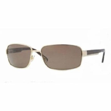 Brooks Brothers BB4004S Sunglasses (152873) Gold Brown Solid, 63 mm