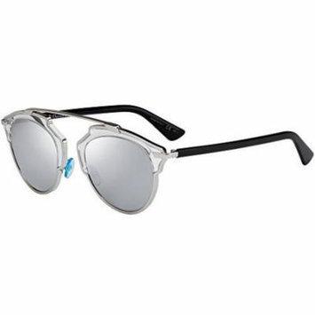 Dior So Real Sunglasses 48mm Silver