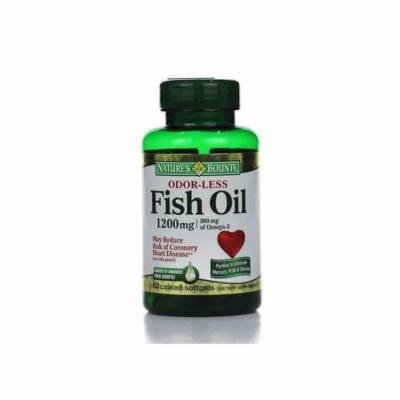 Natures Blend Omega-3 Fish Oil 1200 mg Odorless Enteric Coated - 60 Softgels