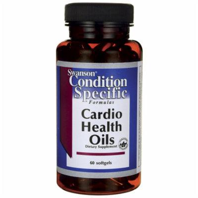 Swanson Cardio Health Oils 60 Sgels
