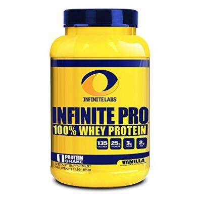 Infinite Labs Infinite Pro Whey Supplement, Vanilla, Supports Optimal Growth And Recovery - 23 Servings (931 Grams) 2LBS